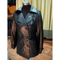 GIACCA IN PELLE DONNA MODELLO TRENCH